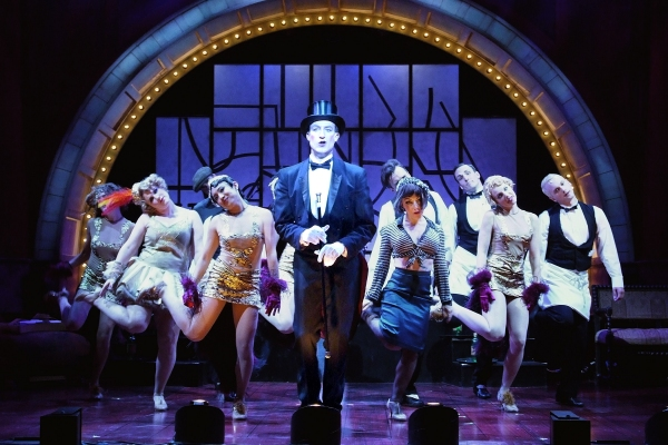 Bryce Ryness at Bryce Ryness, Lisa O'Hare in Reprise Theatre Company's CABARET
