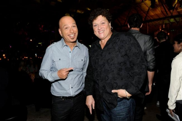 Dot Marie Jones, Howie Mandel at GLEE Stars Attend FOX's Casino Party!
