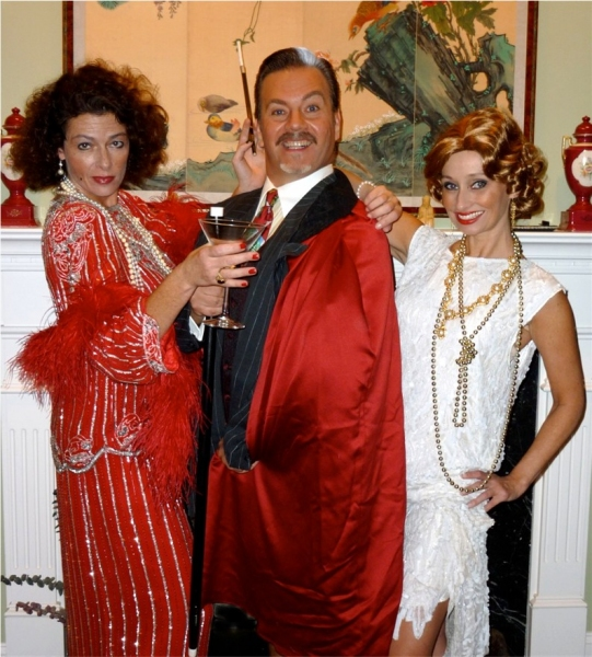 Kathleen Hart (The Drowsy Chaperone) Lorenzo Cambriello (Rodolfo) and Christine Gavin (Janet)