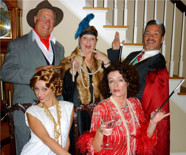 3 at THE DROWSY CHAPERONE Comes to Armonk
