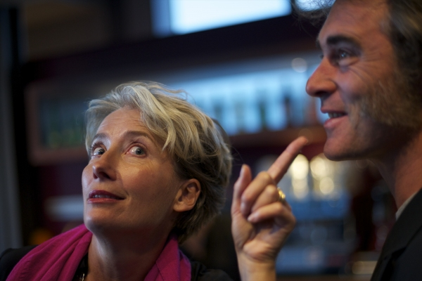 Emma Thompson and Greg Wise  at Emma Thompson, Simon Jones, et al. Attend NO NAUGTY BITS Opening