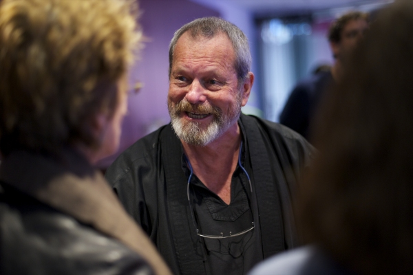 Terry Gilliam  at Emma Thompson, Simon Jones, et al. Attend NO NAUGTY BITS Opening