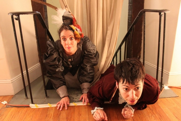 Photo Flash: ALICE, OR THE SCOTTISH GRAVEDIGGERS at Brooklyn's Old Stone