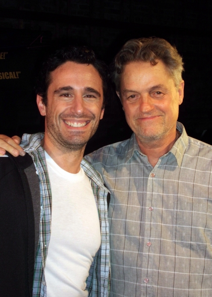 Photo Flash: Jonathan Demme Visits SILENCE! The Musical