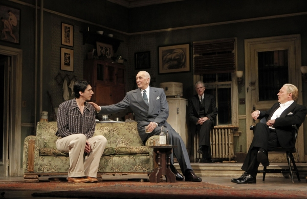Adam Driver, Frank Langella, Michael Siberry and Zach Grenier