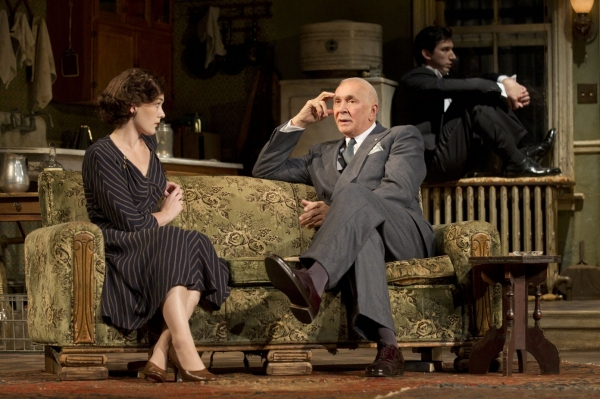 Photo Flash: Frank Langella in MAN AND BOY - Production Images!
