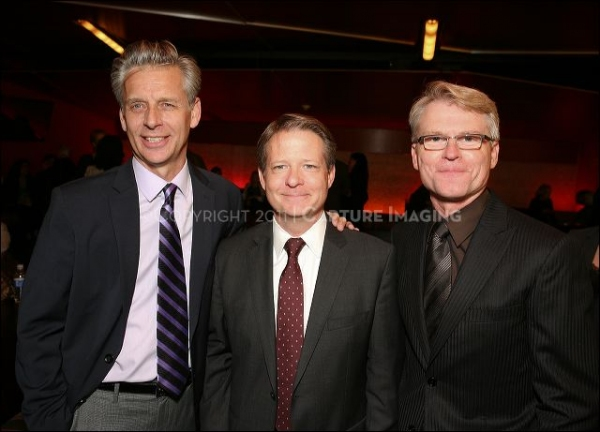 CTG Artistic Director Michael Ritchie, CTG Board President William H. Ahmanson and CTG Managing Director Edward L. Rada