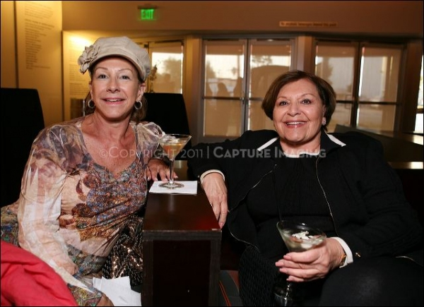 Carole Black (R) (From Marina Del Rey) and guest Jill