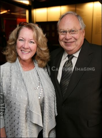 Debi Bishton (L) and Norris Bishton