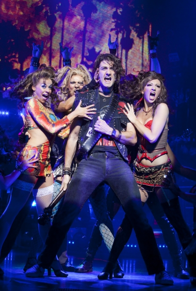 Oliver Tompsett at First Look at West End's ROCK OF AGES
