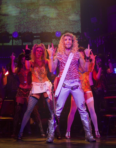 Photo Flash: First Look at West End's ROCK OF AGES
