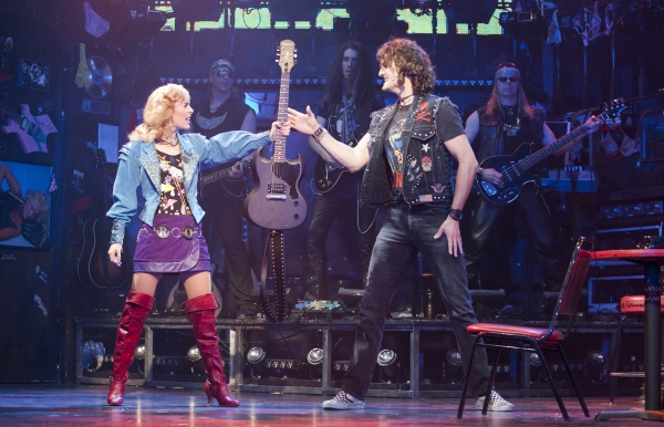 Oliver Tompsett, Amy Pemberton at First Look at West End's ROCK OF AGES