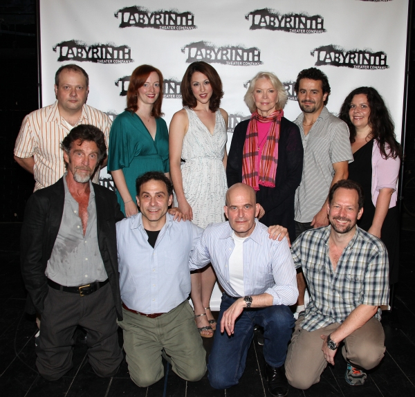 Actors Sidney Williams, Kelley Rae O'Donnell, Kelley Curran, Ellen Burstyn, Max Casella, Melissa Ross, Charles Goforth, Paul Kandel, David Deblinger and John Glover  at Meet the Cast of THE ATMOSPHERE OF MEMORY!