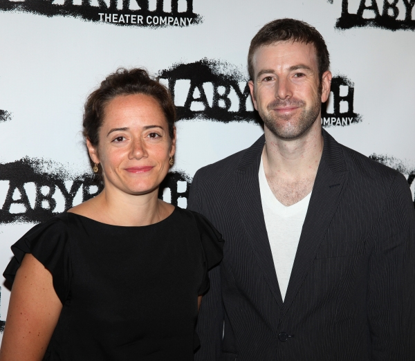 Mimi O'Donnell (Co-Artistic Director) & Danny Feldman (Managing Director)