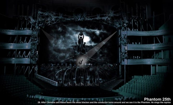 Photo Flash: First Look at THE PHANTOM OF THE OPERA's 25TH Anniversary Rooftop Set!