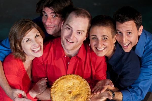 Samantha Stern, Adam Ratner, Jeremy Lamb, Christine Alexander, and Steve Turrisi Photo