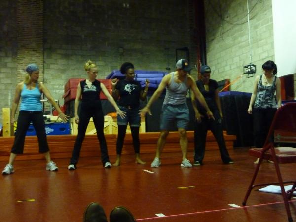 Ron De Jesus Choreographs