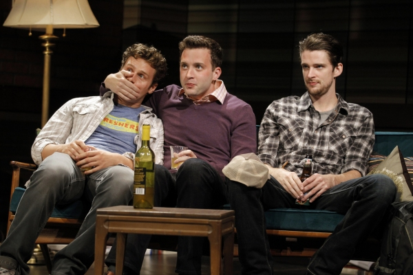Jonathan Groff, Eddie Kaye Thomas and Will Rogers