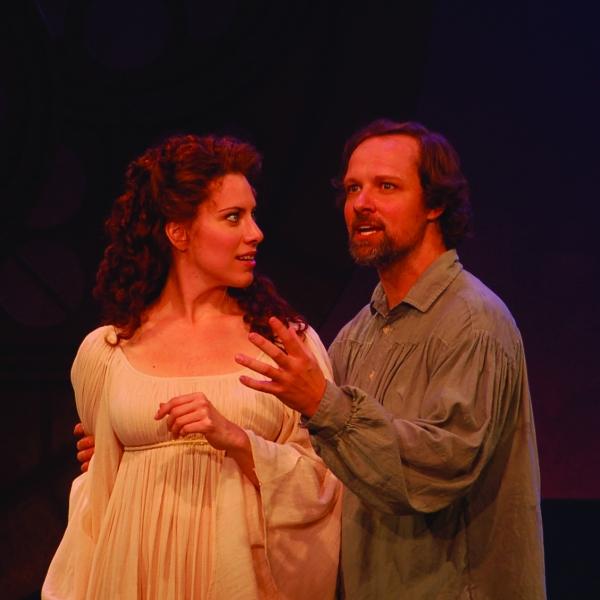 Kim Carson (Guenevere) and Jim Stanek (King Arthur)