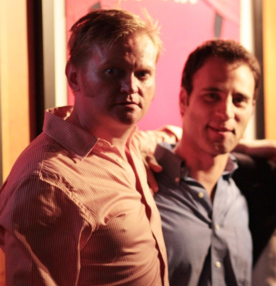 Sam Helfrich and Neil Holland.