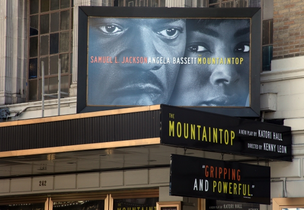 UP ON THE MARQUEE: THE MOUNTAINTOP