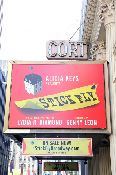 UP ON THE MARQUEE: STICK FLY