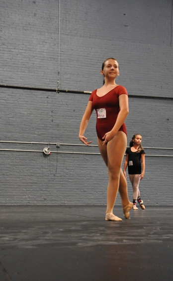 Photo Coverage: BILLY ELLIOT Auditions New Ballet Girls