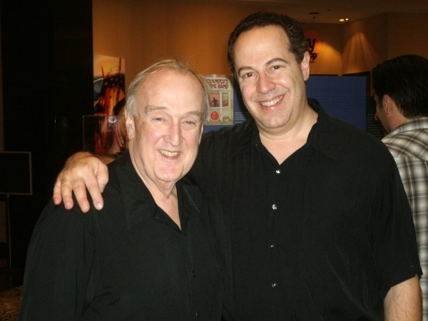 John Phillips and Brian Rabinowitz at Theatre At The Centre's GUYS AND DOLLS Opening Night