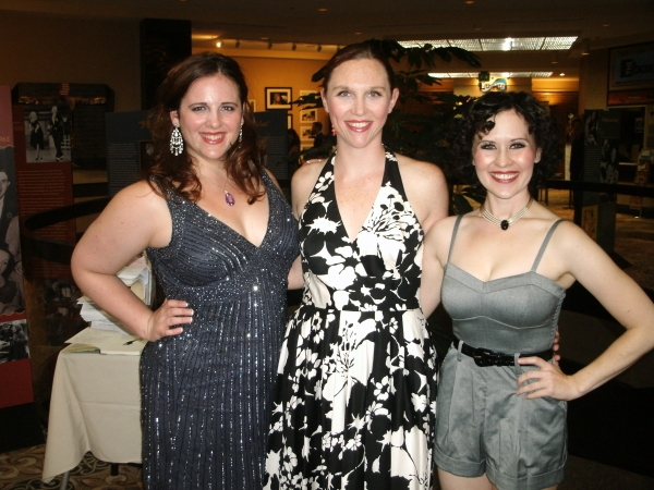 Kathleen Campbell Gibson, Janell Rinne and Nicole Miller at Theatre At The Centre's GUYS AND DOLLS Opening Night