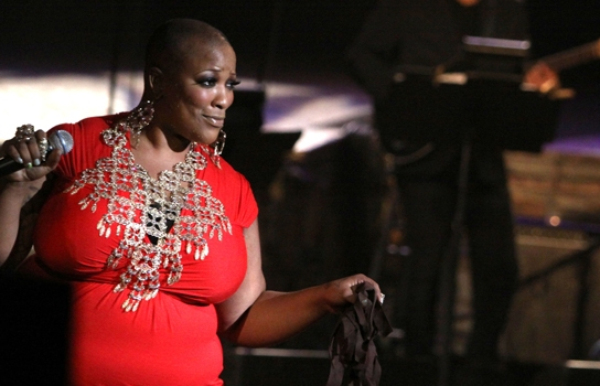 Frenchie Davis in New York's Finest at Ford Amphitheatre