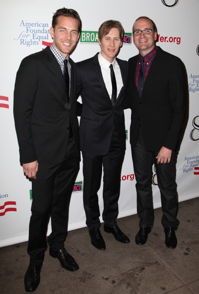 Adam Umhoefer, Dustin Lance Black and Chad Griffin