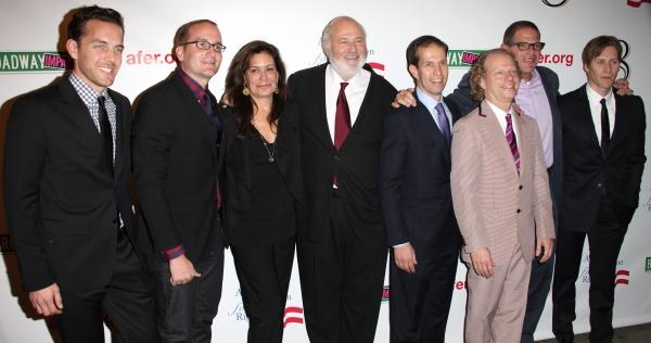 Adam Umhoefer, Chad Griffin, Michele Reiner, Rob Reiner, Ken Mehlman, Bruce Cohen, Jonathan Lewis and Dustin Lance Black
