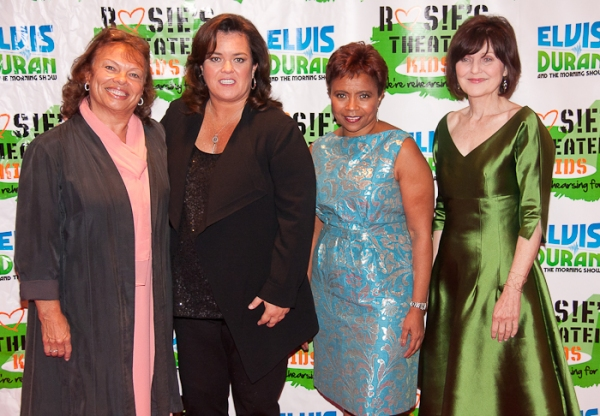 Nancy Coyne, Rosie O'Donnell, Marva Smalls and Ruthe Ponturo