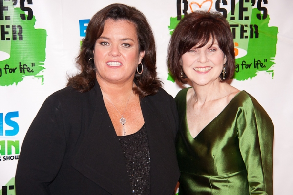 Rosie O'Donnell and Ruthe Ponturo