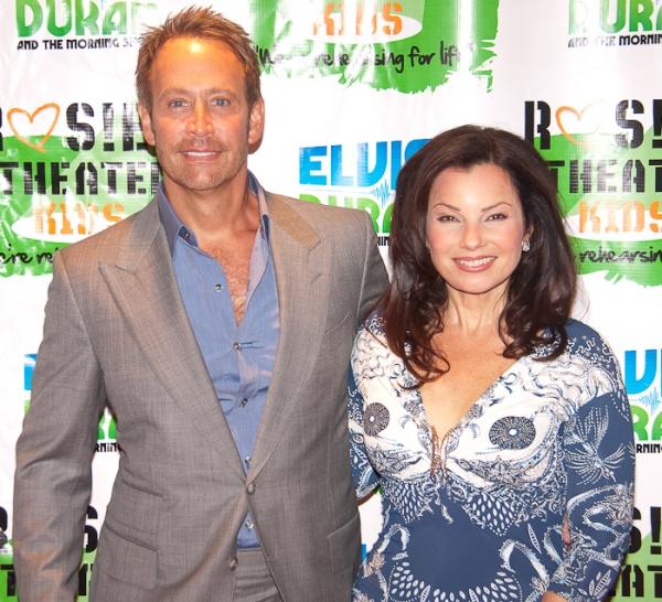 Peter Marc Jacobson and Fran Drescher