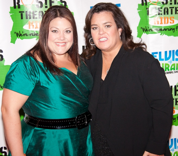 Brooke Elliott and Rosie O'Donnell
