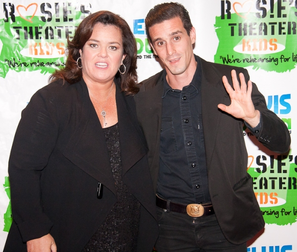 Rosie O'Donnell and James Ransone at Rosie O'Donnell Honors Nancy Coyne et al. For Rosie's Theater Kids