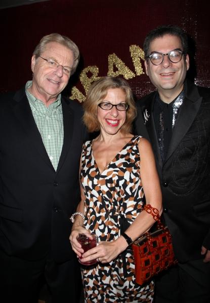 Jerry Springer, Jackie Hoffman & Michael Musto  Photo