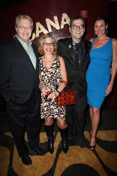 Jerry Springer, Jackie Hoffman, Michael Musto & Countess LuAnn Lessups