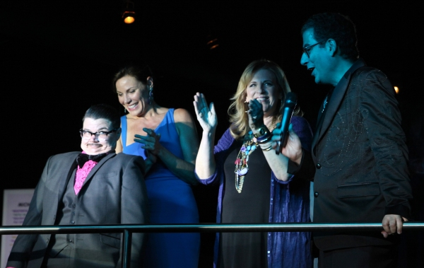 Murray Hill, Lisa Lampanelli, Lisa Lampanelli & Michael Musto