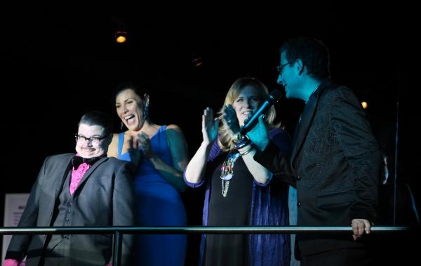 Murray Hill, Lisa Lampanelli, Lisa Lampanelli & Michael Musto attending the Michael Musto