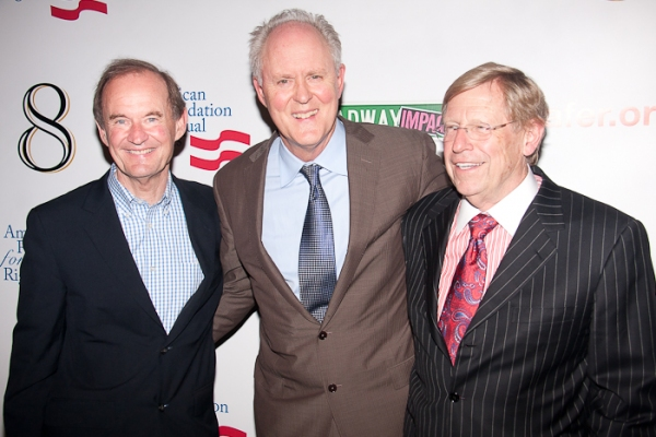 David Boies, John Lithgow, and Theodore Olson