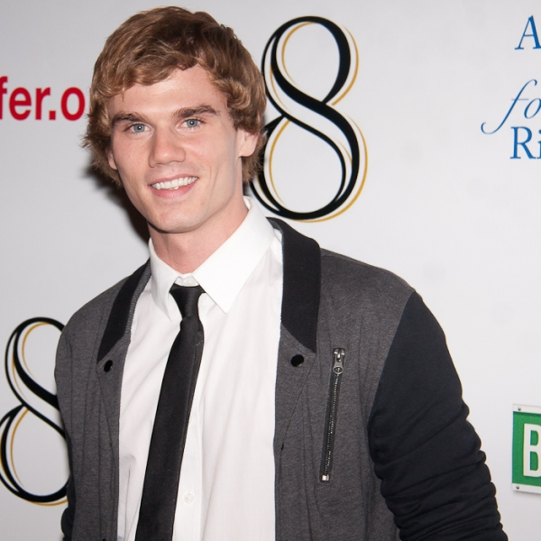 Jay Armstrong at '8' Celebrates Broadway Premiere - The After Party