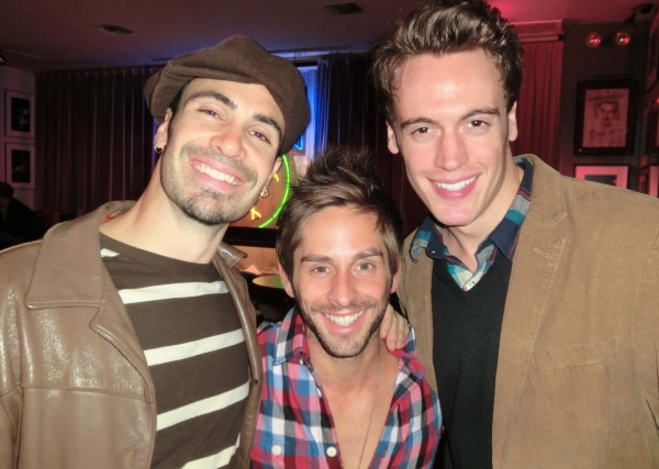 Nate Lombardi, Chris DiCristo, Erich Bergen at Jane Monheit Brings ANYTHING GOES to Birdland