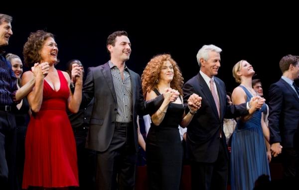 Dirk Lumbard; Karen Ziemba; Max von Essen; Bernadette Peters, James Naughton; Elizabe Photo