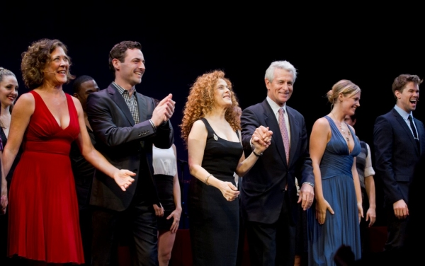 Dirk Lumbard; Karen Ziemba; Max von Essen; Bernadette Peters, James Naughton; Elizabe Photo