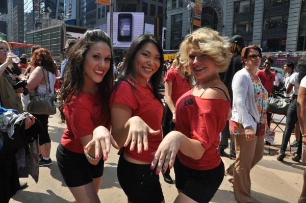 Elizabeth Stacey, Rebeccca Larkin and Sarah Hicks