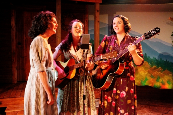 Jackie Frost, Sara Carter; Ali Thibodeau, Janette Carter; Emily Cole, Maybelle Carter Photo