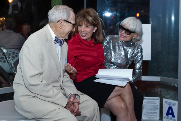 Harry Kullijian, Jackie Speier, Carol Channing at Carol Channing & More At Palm Springs EMMY Night Party