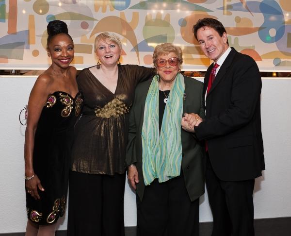 Jonelle Allen, Alison Arngrim, Kaye Ballard and Davis Gaines